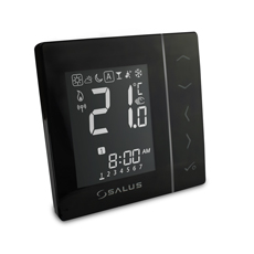 4 in 1 Digitales Thermostat Funk Salus VS20BRF, batteriebetrieben